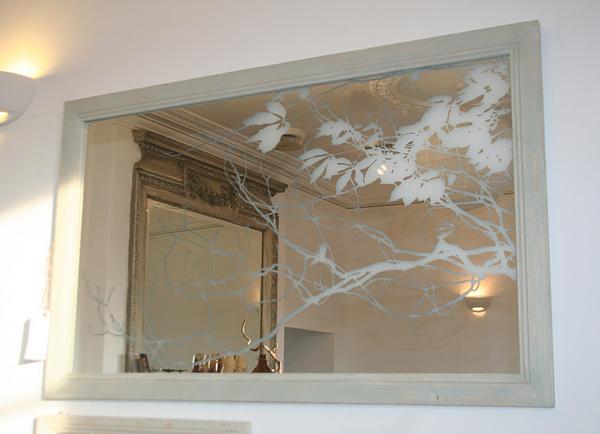 Mirror Etching Design Ideas